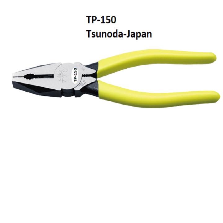 Kìm đa năng kiểu Âu 150mm TP-150 Tsunoda Nhật Bản