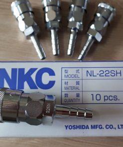 Đầu nối nhanh khí nén NKC NL-22SH