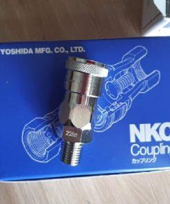 Đầu nối khí nén ren 13mm NKC NL-22SM